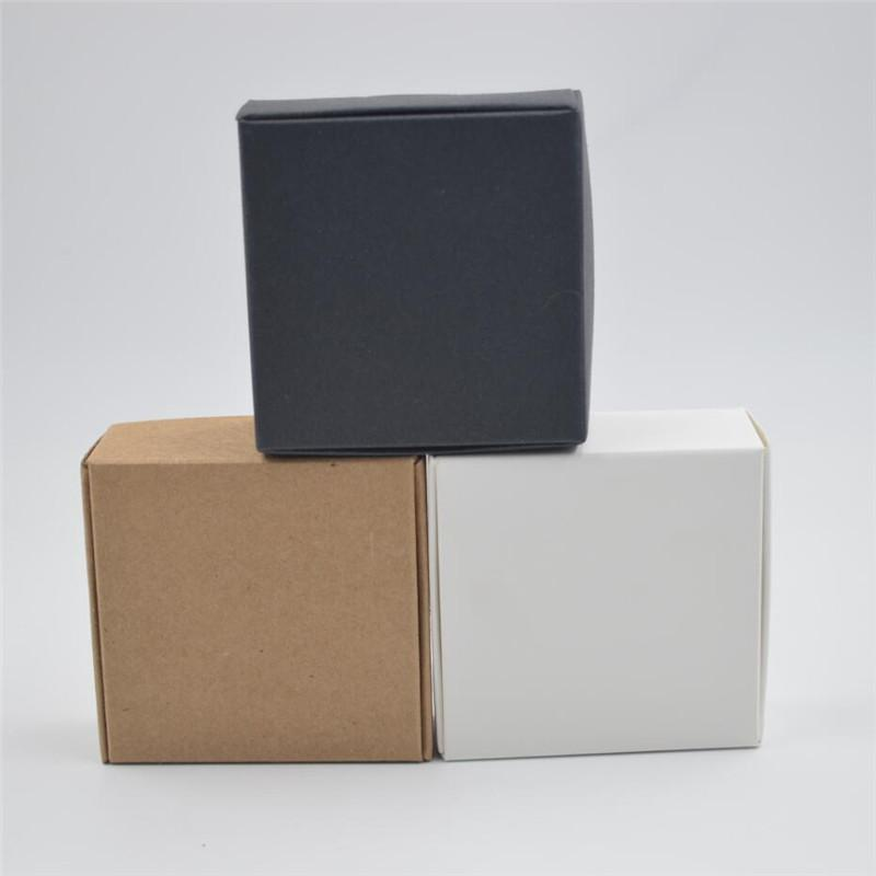 Kraft Cardboard Box Handmade Soap Packaging Box Diy Wedding Gift