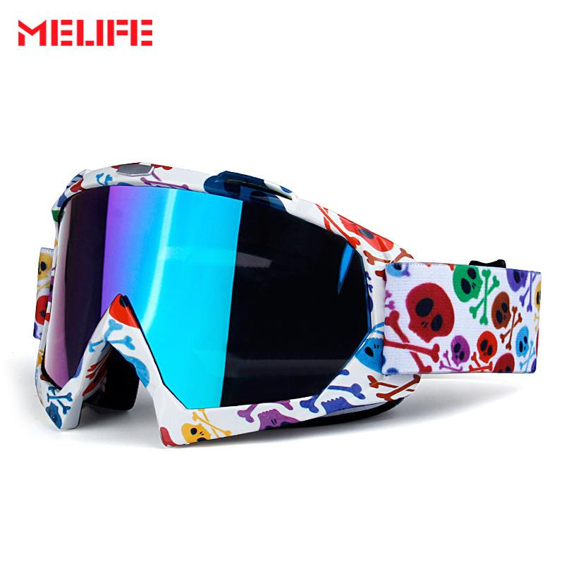 46fb84c35adb 2019 MELIFE Motocross Glasses Moto Men Women Motorcycle Goggles Helmet  Glasses Off Road Dirt Bike ATV MX BMX MTB Ski Goggles Eyewear From  Nicebetter