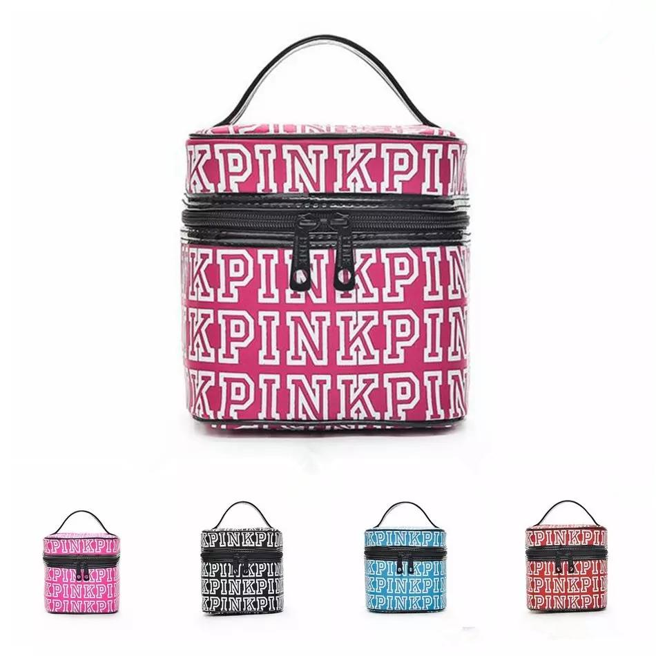 Girls Cosmetic Bag Waterproof Makeup Bags Necessaries Women Letter ...