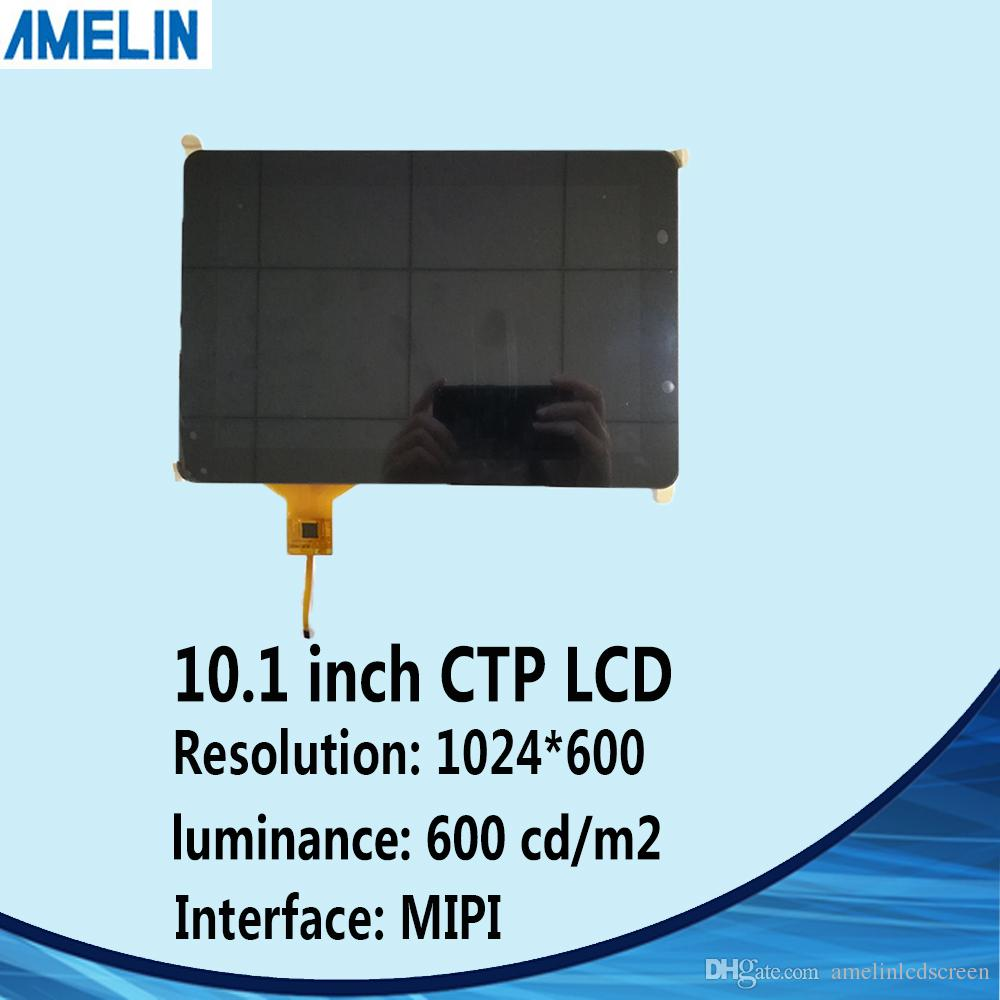 10 1 inch 800*1280 MIPI TFT LCD module display with IPS LCM and CTP touch  screen use for raspberry pi