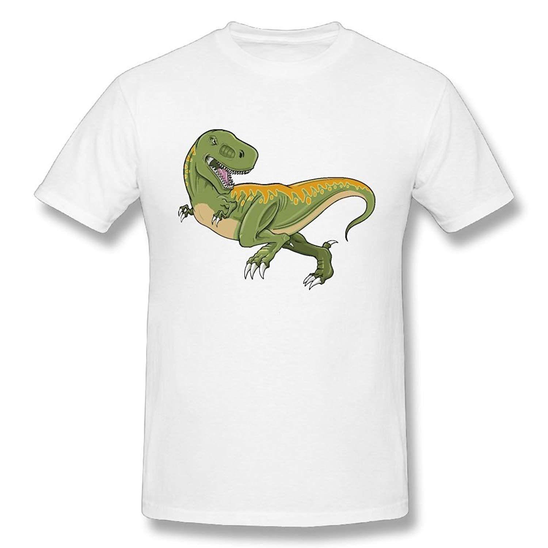 0d496b0980de Funny Men'S Wholesale Discount Rex Dinosaur 100% Cotton Prints Casual Short  Sleeve Tee Cartoon Character Ringer T Shirts Political T Shirts From  Margat, ...