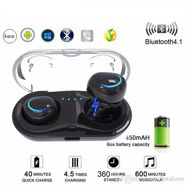 Aliexpress Com Buy Htk18 Tws Mini Invisible Headphones: Bluetooth Earbuds TWS Q18 Mini Auricular Wireless Headset
