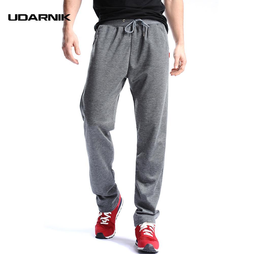 Compre Hombre Running Pantalones Pantalones Deportivos Jogging Gym Pantalones  Entrenamiento De Fútbol Sudadera Ropa Deportiva Loose Straight 801 089 A ... 61a2df5bdda2
