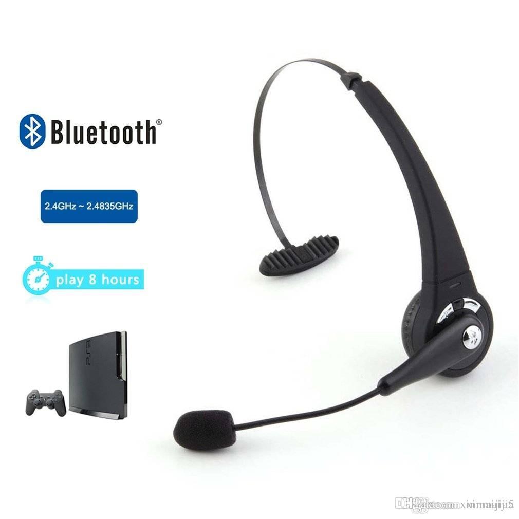 Acquista Auricolare Bluetooth Con Cuffia Wireless Nera Con Microfono Sony  PlayStation 3 PS3 A  13.5 Dal Xinmaijia5  594fb81a5186