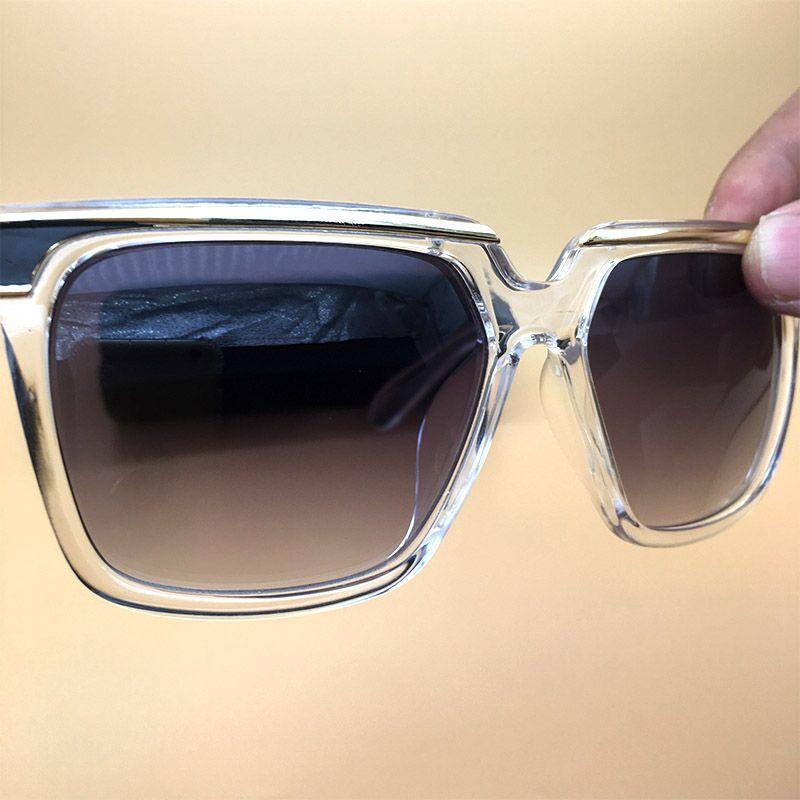 8dbdd0cc25a Acetate Sunglasses Clear Frame Eyewear Brand Polarized Glasses ...