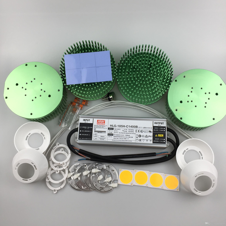 200w Cree Cob Cxb3590 Led Grow Lights Kit Full Spectrum
