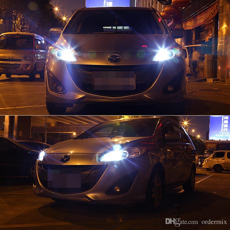 10 unids Auto T10 192 168 194 5 LED 5050 W5W Puerta de cuña Aparcamiento Bombilla de Aparcamiento Luz LED Doma Festoon C5W C10W Luz de placa DRL