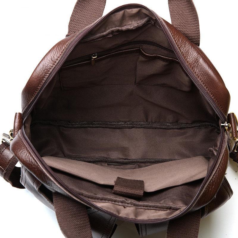 Erkekler hakiki deri çanta İş Tote Evrak messenger Çanta At Deri ünlü markaların yüksek kalite büyük İşlevli