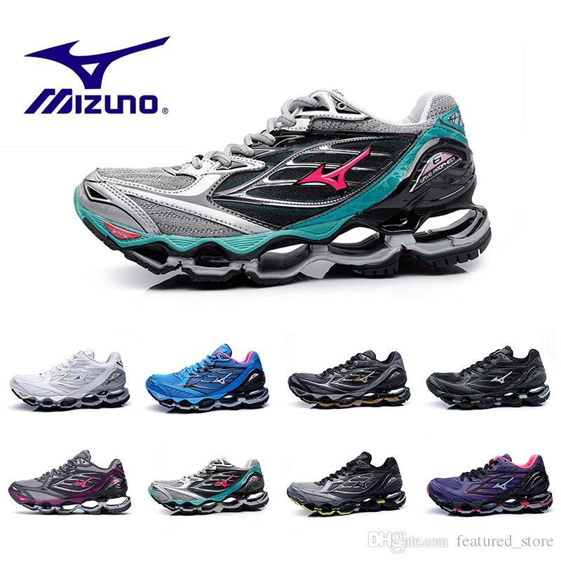 399bad139dc Acheter Originals Mizuno WAVE PROPHECY 6 Hommes Designer Chaussures De  Course Pour Hommes Chaud Authentique Sport Femmes Original Haute Qualité  Entraîneurs ...