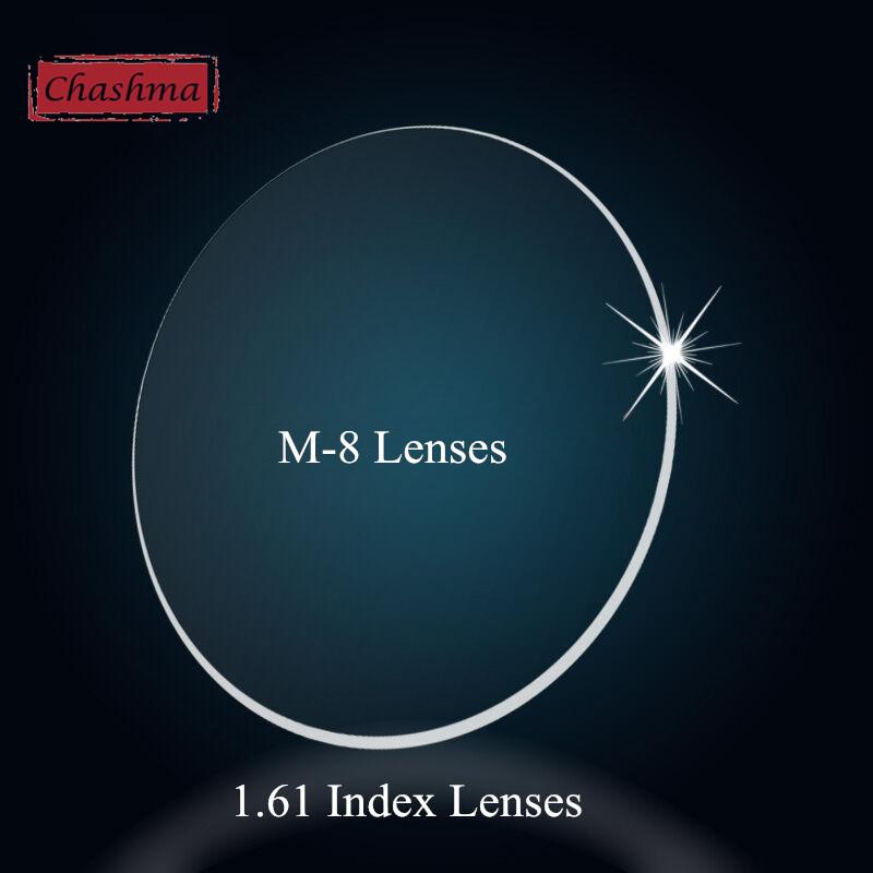 ee140852c7 Chashma Myopia And Reading 1.61 Index M 8 Clear Lens Eyes Optical ...