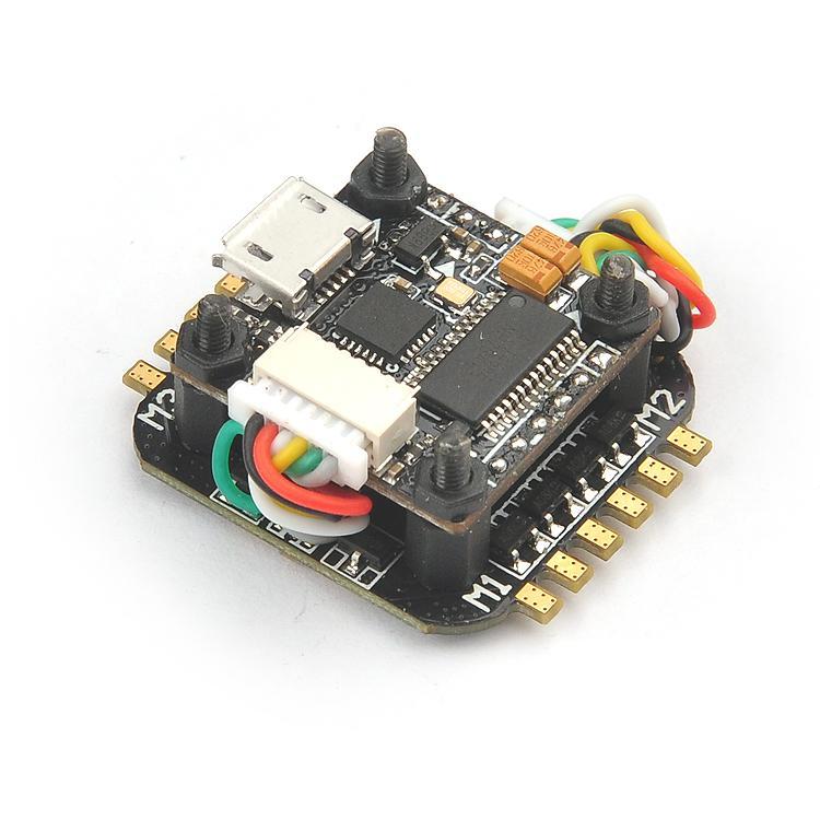 Super_S F4 flight controller board Built-in Betaflight OSD 2s 4 in 1  Blheli_S ESC for RC Drone Quadcopter 130 180 210 frame kit