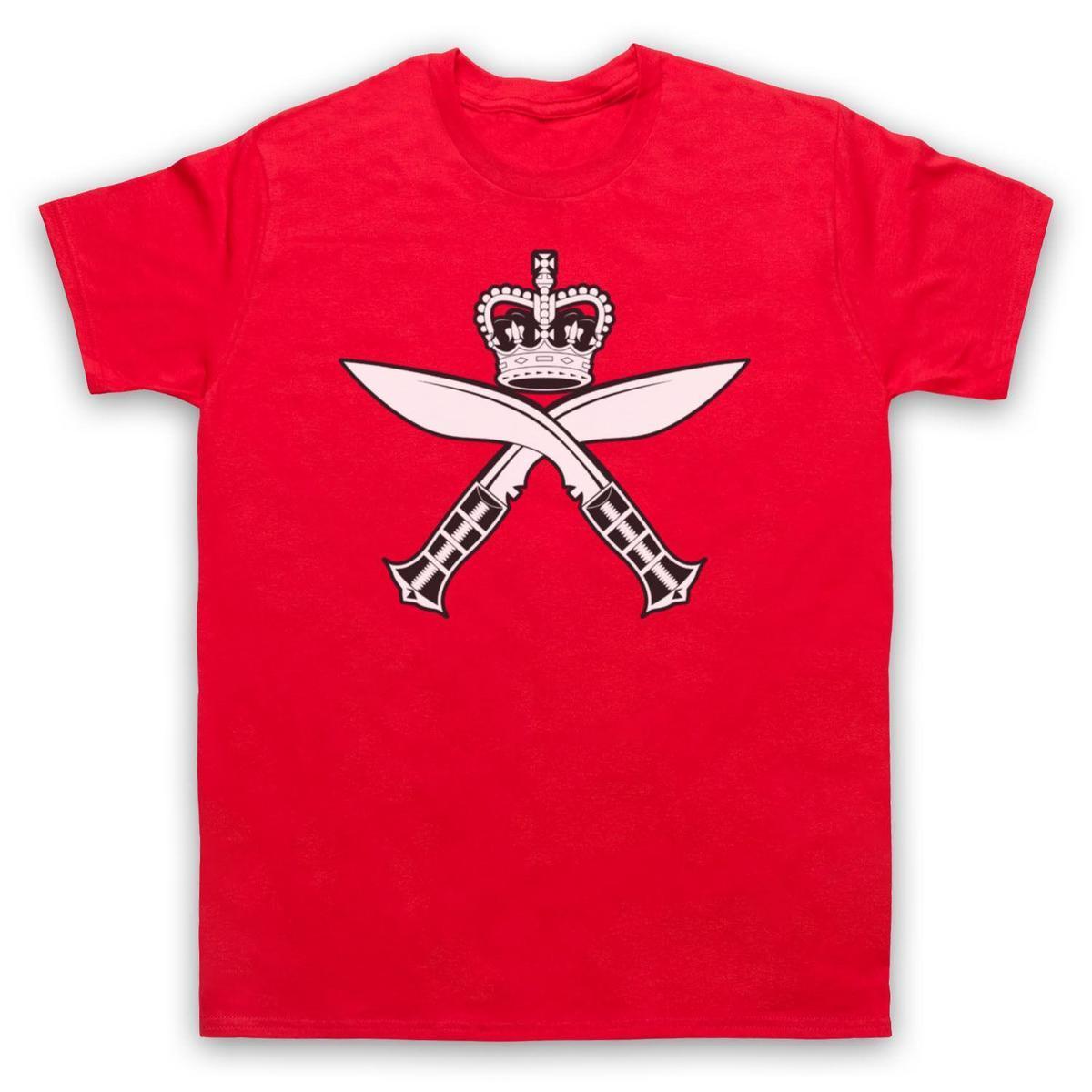 Gurkha Insignia Kukri Regiment Inspired Army Logo Adults Kids T