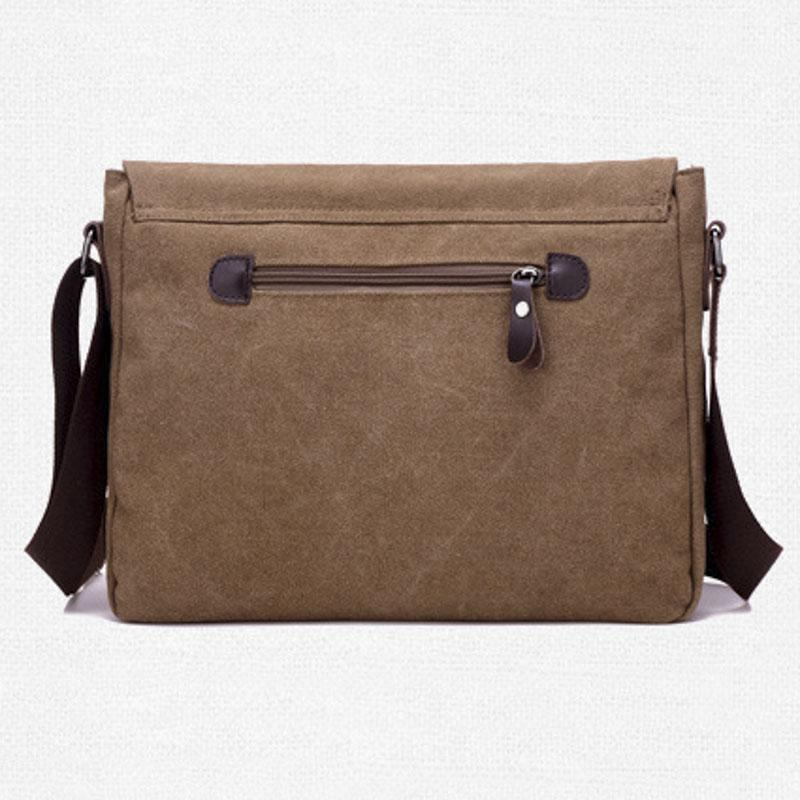 New Fashion Men Bag Male Briefcase Canvas Business Shoulder Bags Luxury Designer Laptop Briefcase File Package Travel Leisure HandBag
