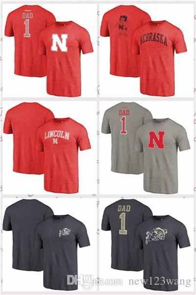 d82922fb 2019 Fanatics Branded Navy Midshipmen Nebraska Cornhuskers Heathered Scarlet  Hometown Arched City Tri Blend T Shirt From Hoodiesno2, $16.95 | DHgate.Com