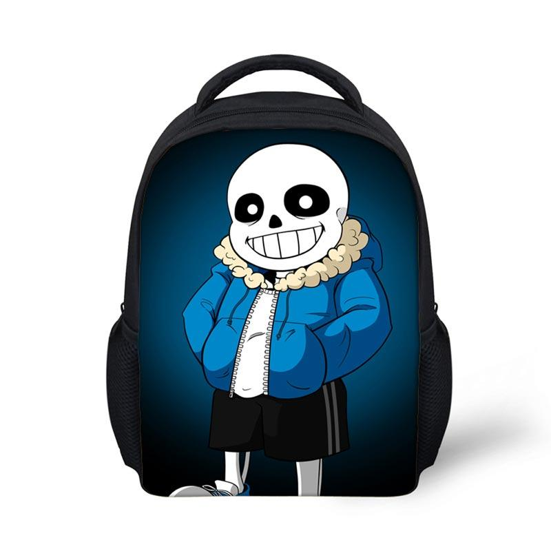 undertale figure games backpack children girls cute canvas teenager