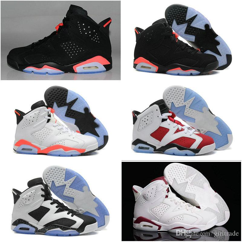 High Quality Drop Shipping Famous Retros VI 6 Mens Basketball Shoes ... 586fc7955
