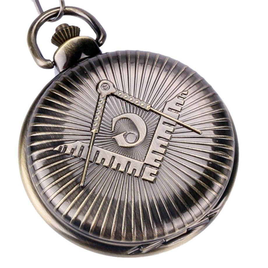 8ac59583d Classic Masonic Pocket Watch Big