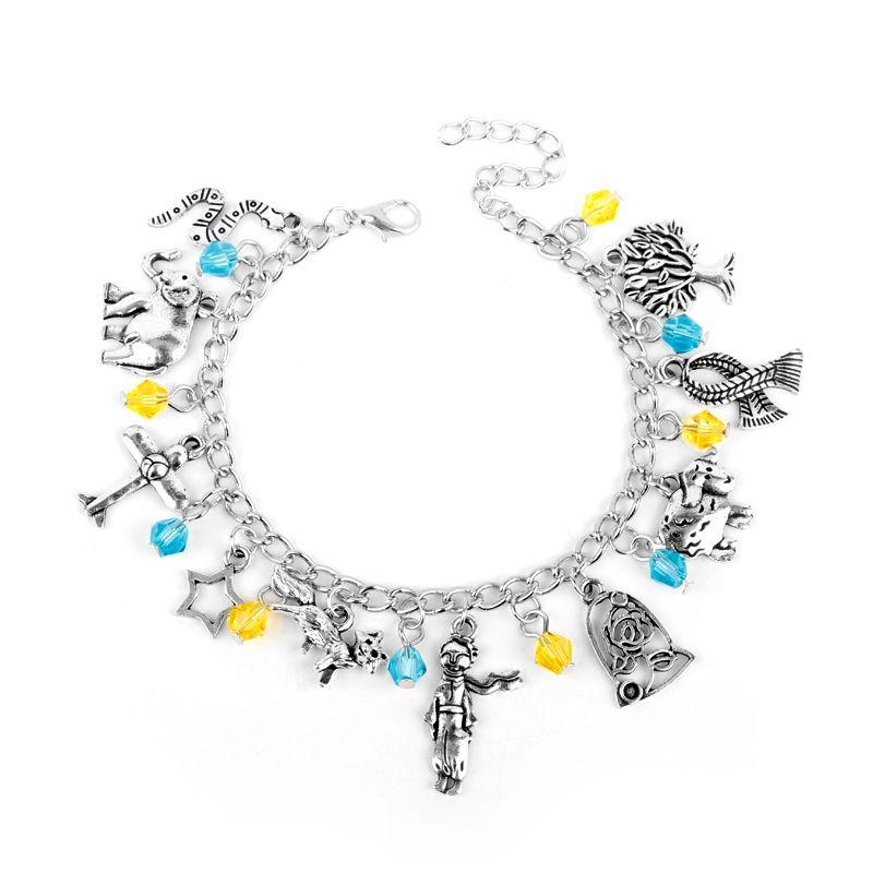mqchun cute cartoon jewelry the little prince bracelet le petit
