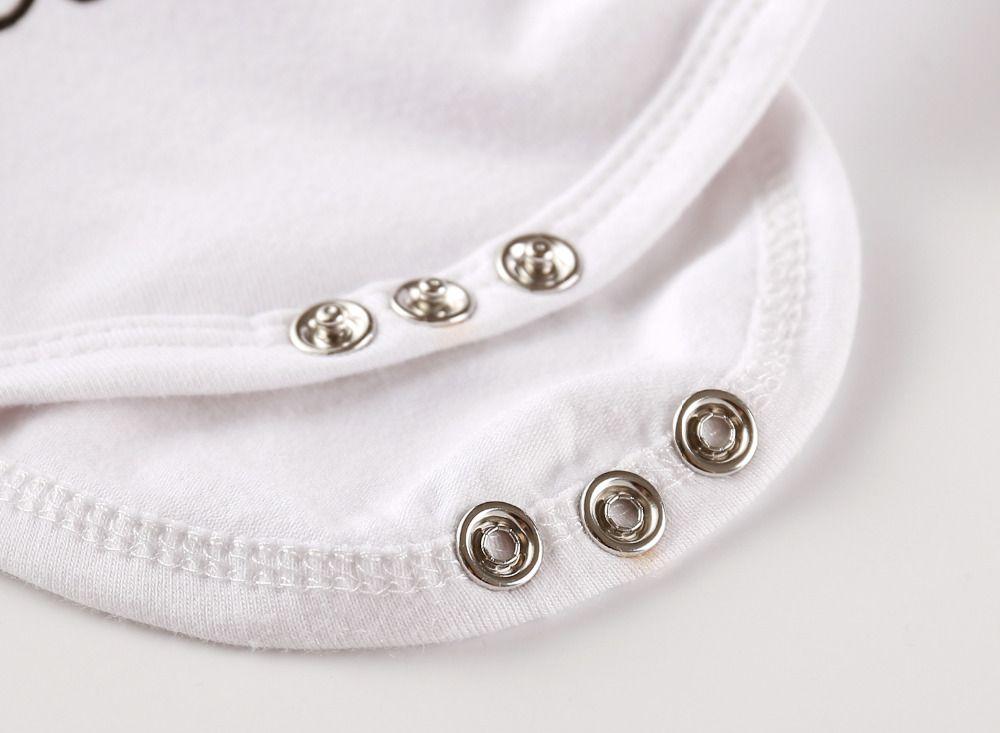 4 unids recién nacido bebés ropa de las muchachas de manga corta blanco Body Tops pantalones de cebra diadema Cap Toddler Outfit Set Summer ropa Romper