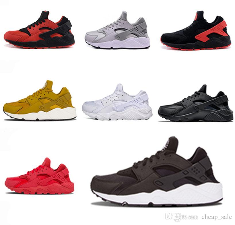 100% authentic db8ac 89d9d Großhandel Nike Air Huarache Berühmte Marke Huarache 1.0 Laufschuhe  Huaraches Trainer Für Männer Frauen Multicolor Schuhe Schwarz Weiß Huaraches  Turnschuhe ...