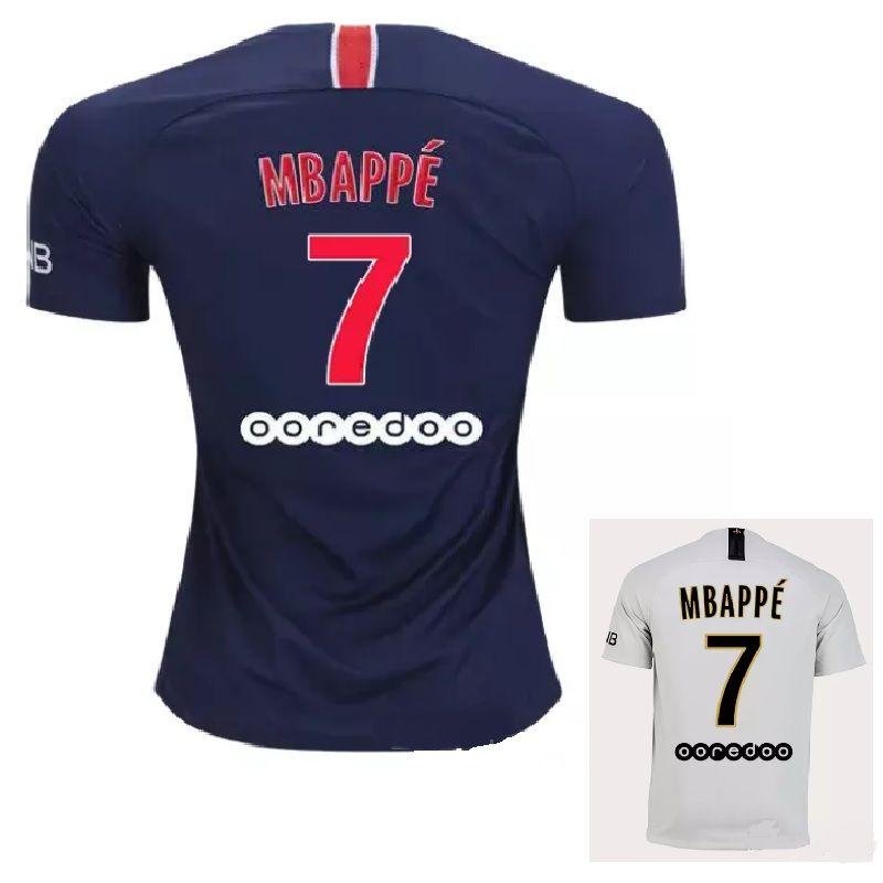 2018 2019 PsG MBAPPE PARIS NEYMAR JR DI MARIA SOCCER JERSEYS 18 19 ... 8419136b6