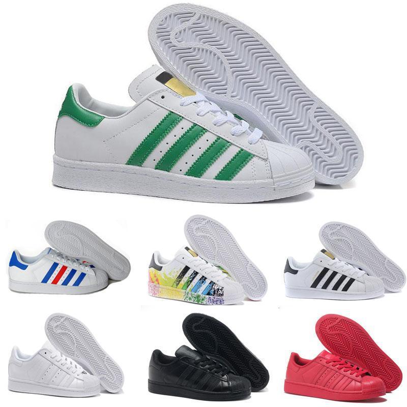 fcf279511674a Acheter Superstar Chaussures Chaussures De Course Runner Star Marque Sports  De Plein Air Chaussures De Course Blanc Noir Femmes Tennis Baskets Baskets  ...
