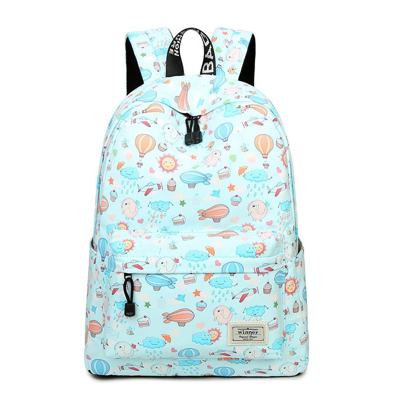 Bag Underwater World Graffiti Print Fashion Student Schoolbag Canvas Large  Capacity Computer Backpack Travel Backpacks For Men Jansport Big Student  Backpack ... b2bf315e60