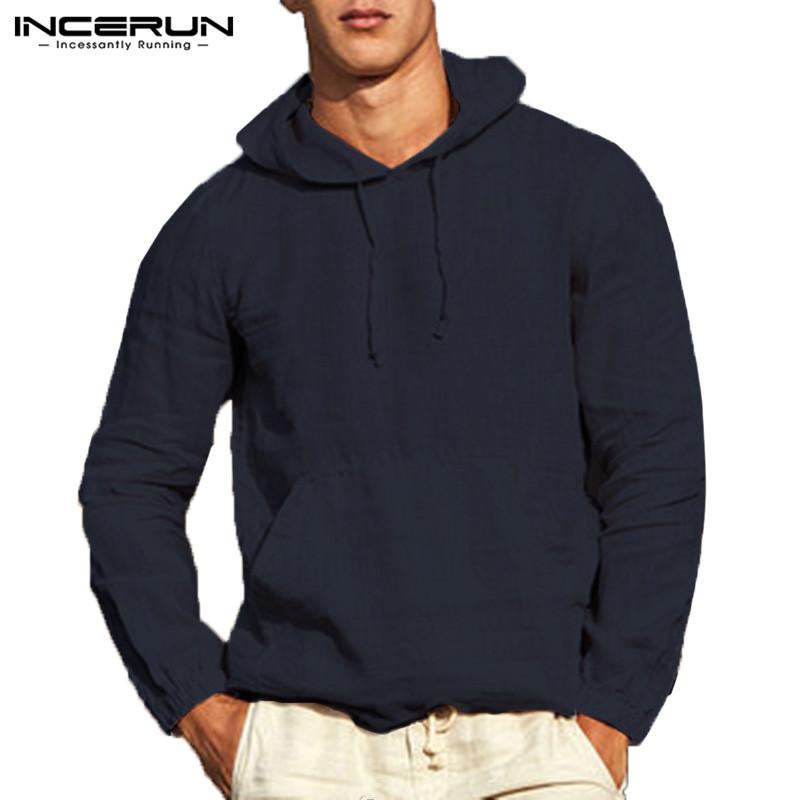 3e689fc51da99 Satın Al Marka Şık Erkekler Hoodies Kazak Tişörtü Uzun Kollu Katı Sonbahar  Erkek Hombre Outwears Moda Hoody Düğme Haki Tops, $41.62 | DHgate.Com'da
