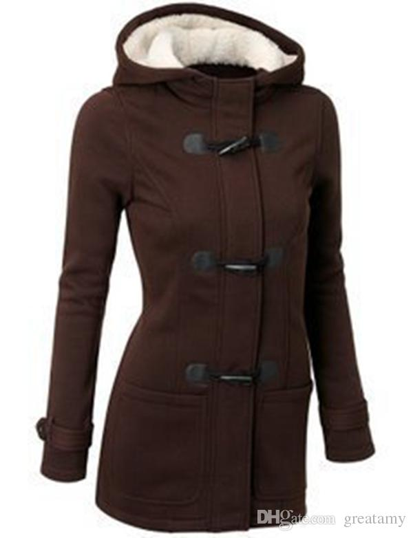 Fashion Hot Sale Women Jacket Clothes New Winter Outerwear Coat Thick Girls Clothes Lady Clothing With Hooded top quality
