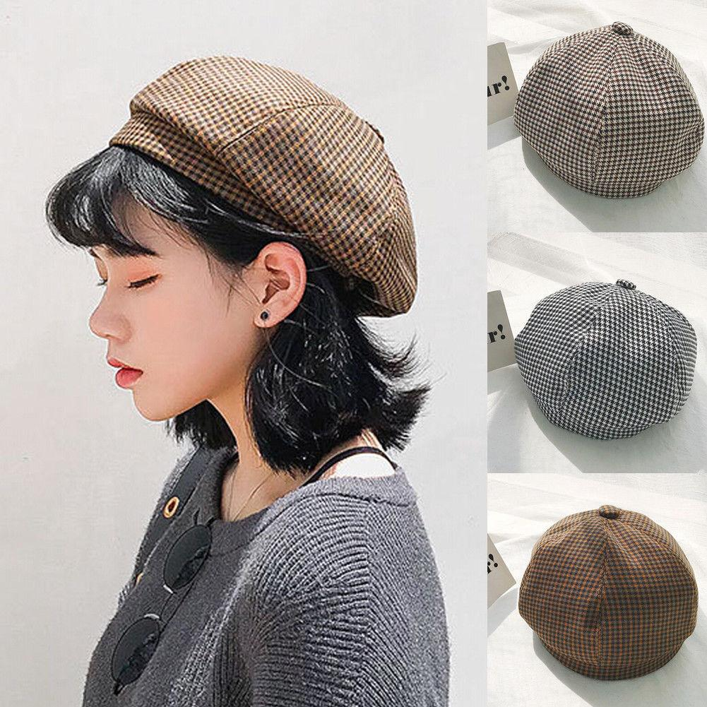 abf59f024ab Style women solid beret french artist warm beanie hat winter ski cap new  laides girl casual