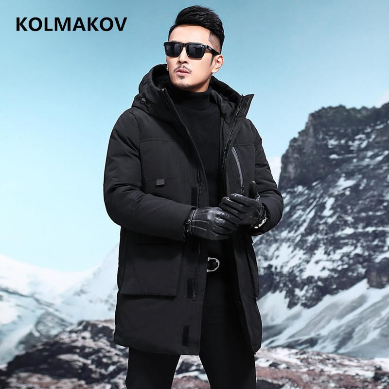 plus récent 38323 bc263 2018 hiver Mode homme Casual doudoune mens 90% duvet de canard blanc  manteaux hommes veste hommes, manteau d hiver pour hommes M à XXXL