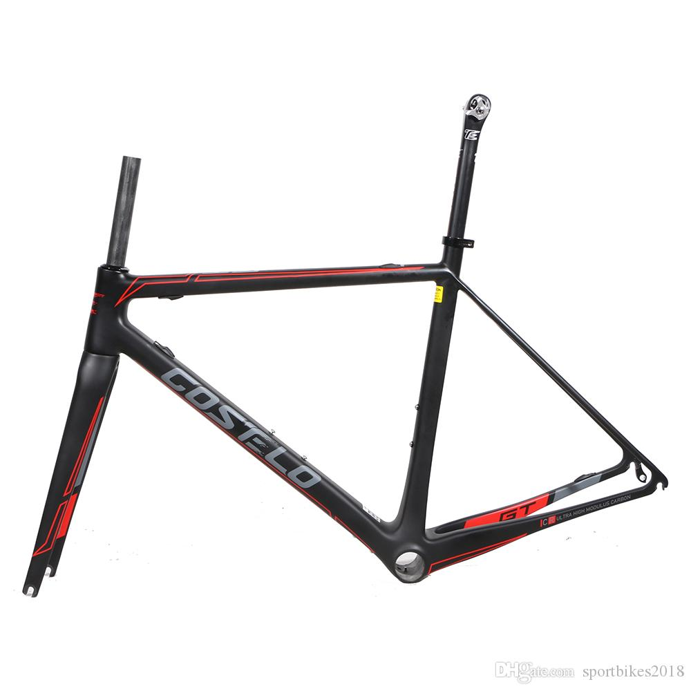 Costelo Gt Zero 7 Carbon Road Bike Frame,Fork Headset Clamp ...