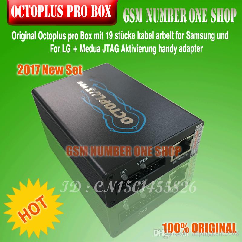 Octoplus Pro Box with 19 pcs cables work for Samsung and FOR LG+Medua JTAG Activation