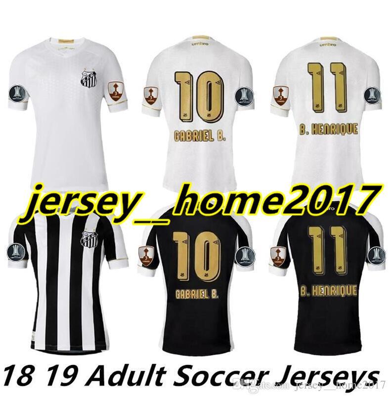 2019 2018 2019 Santos FC Soccer Jersey 18 19 Santos Home Away Gabriel  RODRYGO DODO RENATO SASHA Football Camisetas Shirt Kit Maillot From  Jersey  home2017 57be028dc567b