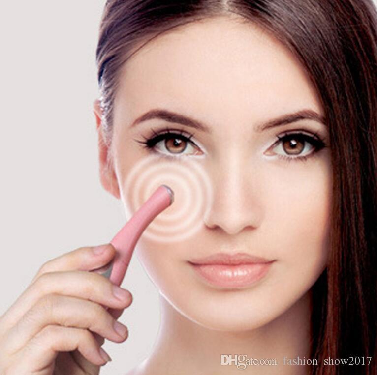 Beauty Care Mini Massage Device Tipo di penna Electric Eye Massager Facials Vibrazione Thin Face Magic Stick