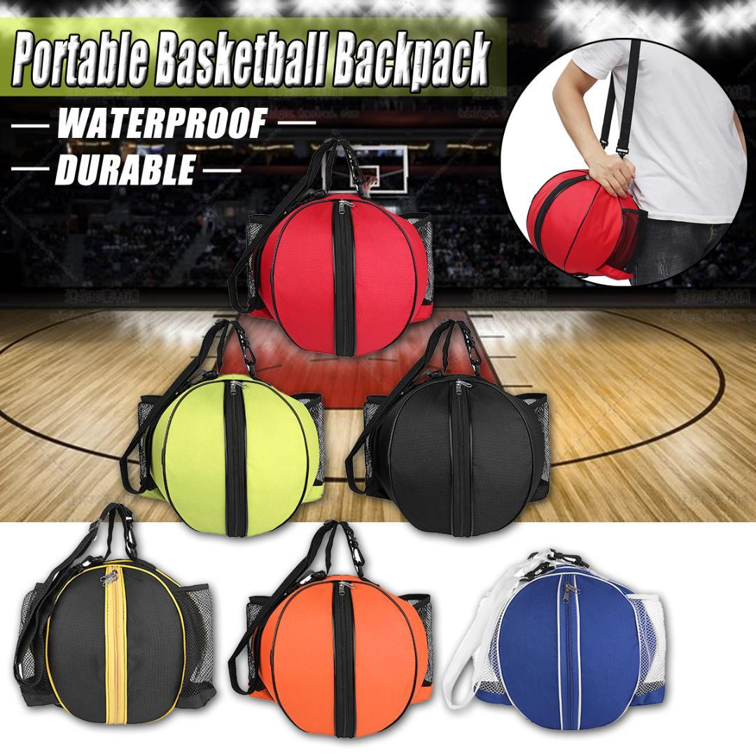 deaa95f450 2019 Portable Basketball Backpack Water Bottle Ball Pack Soccer Sports Bags  Kids Football Kits Waterproof Volleyball Basketball Bag From Longanguo