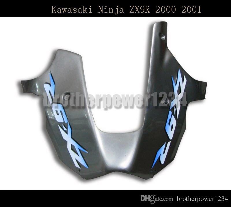 Motosiklet ABS Plastik Boyalı Sıkıştırma Kalıp Kawasaki Ninja ZX9R 2000 Için Kaporta Kaporta Kiti Set 2001