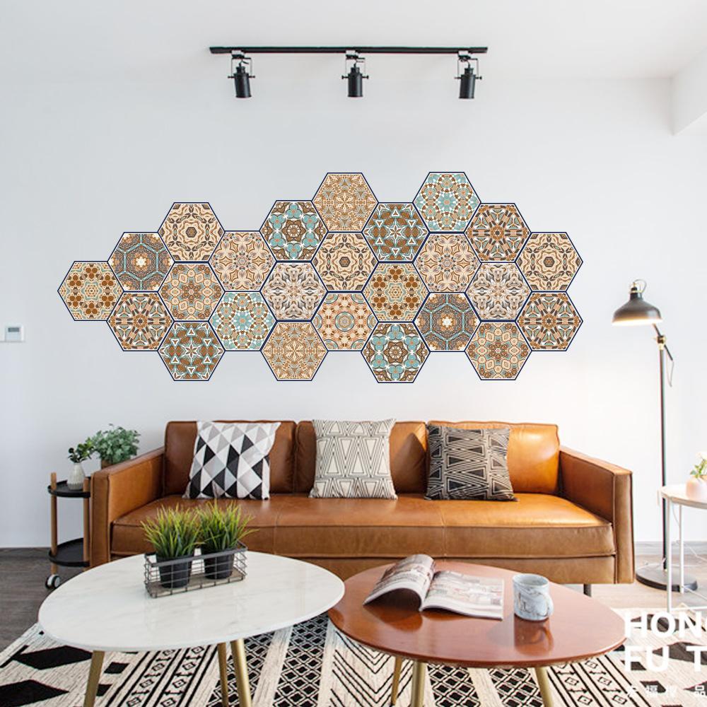 Muster Wohnzimmer | Grosshandel 20 23 Cm 12 Muster Fliesen Aufkleber Wohnzimmer Kuche