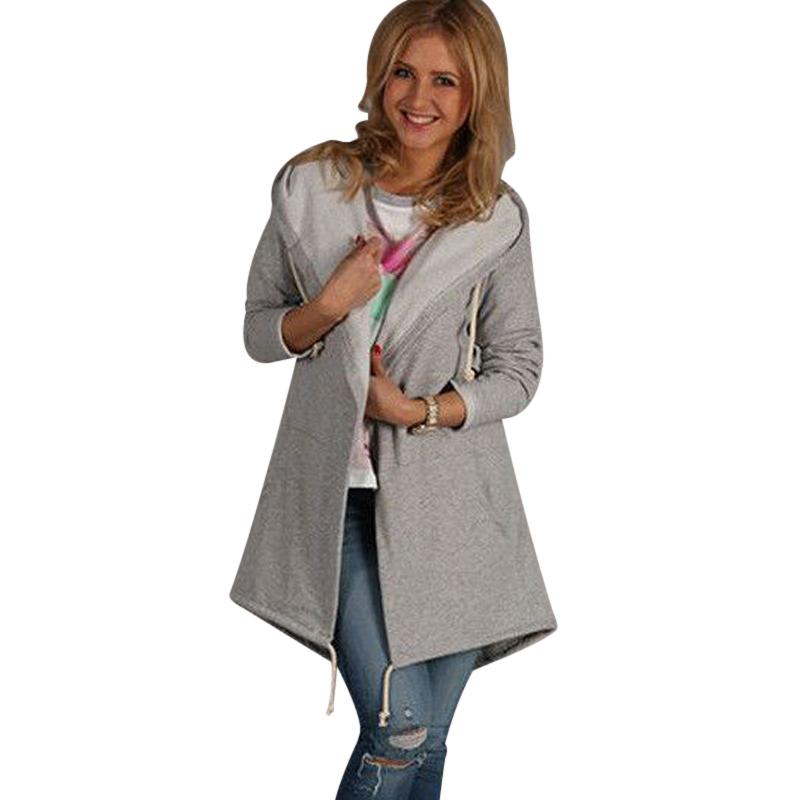 2018 Autumn New High Fashion Brand Woman Classic Hoodies Trench Coat Waterproof Raincoat Business Outerwear