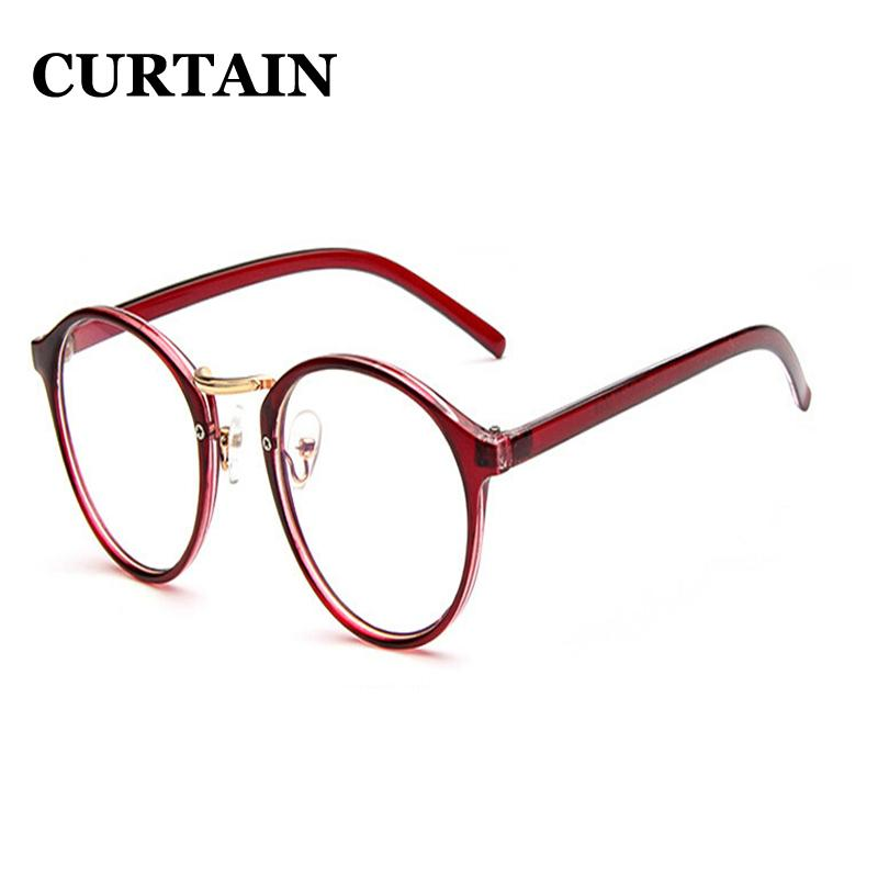 ad7b232c9d 2019 Retro Vogue Trendy Stylish Glasses Round Frame Flat Mirror Women  Ladies Glasses F0003 From Arrowhead