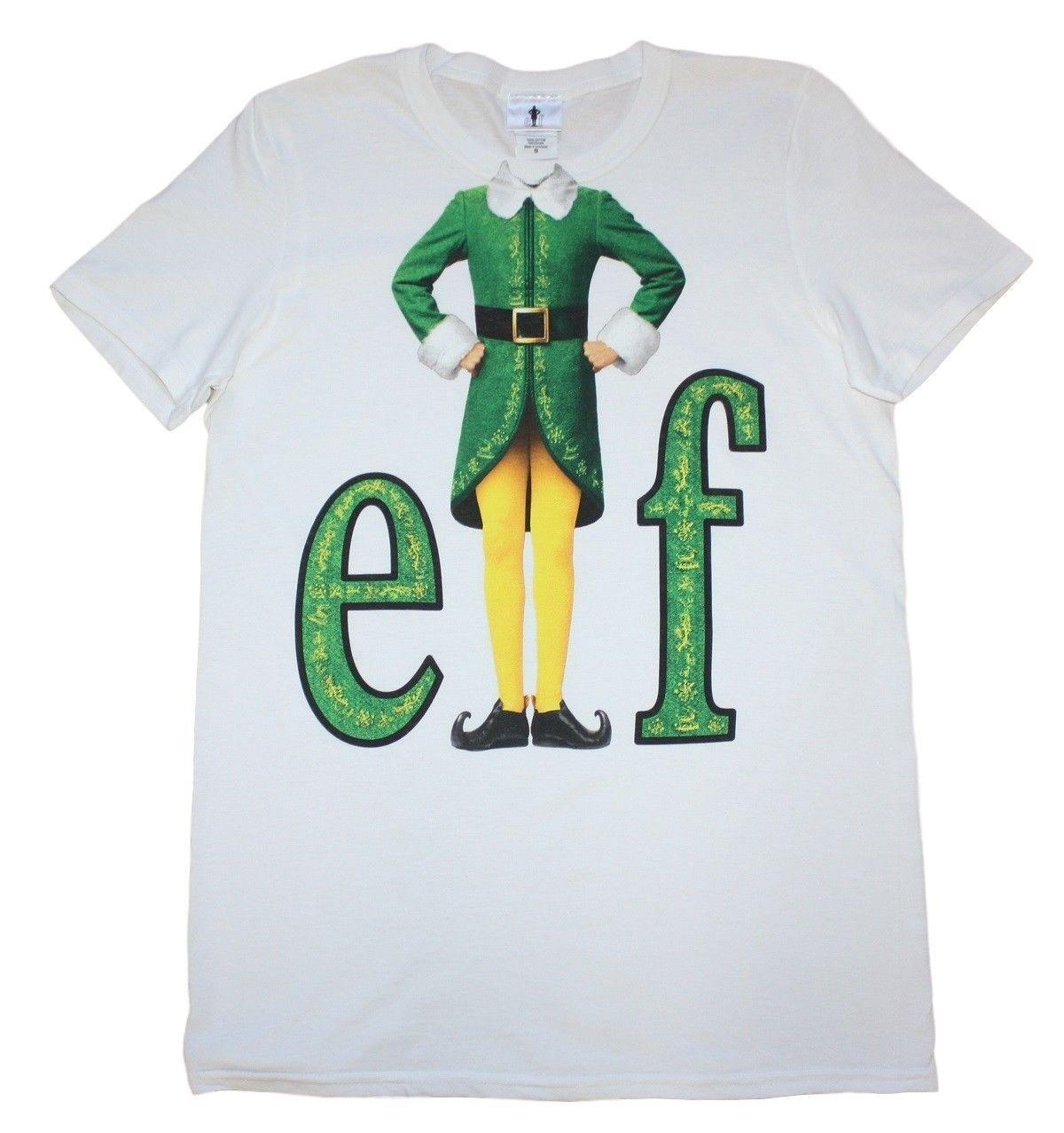 1487f60c1 Elf Movie Elf Suit Official Mens T Shirt T Shirt For A Tee Shirt From  Tshirtbuzz, $11.01  DHgate.Com