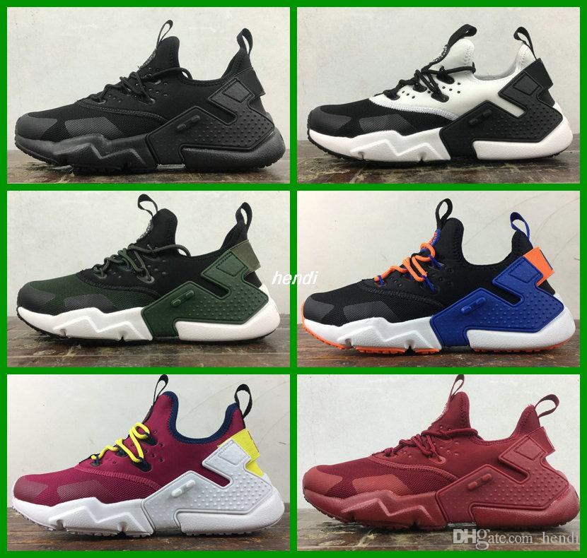 e06d272b2fb8 Air Huarache Drift 2018 Newest Huaraches Ultra Breathe Hurache 6 Running  Shoes Men Women Huraches Run Shoe Sports Sneakers Boosts Size 36 45 Sports  Shoes ...