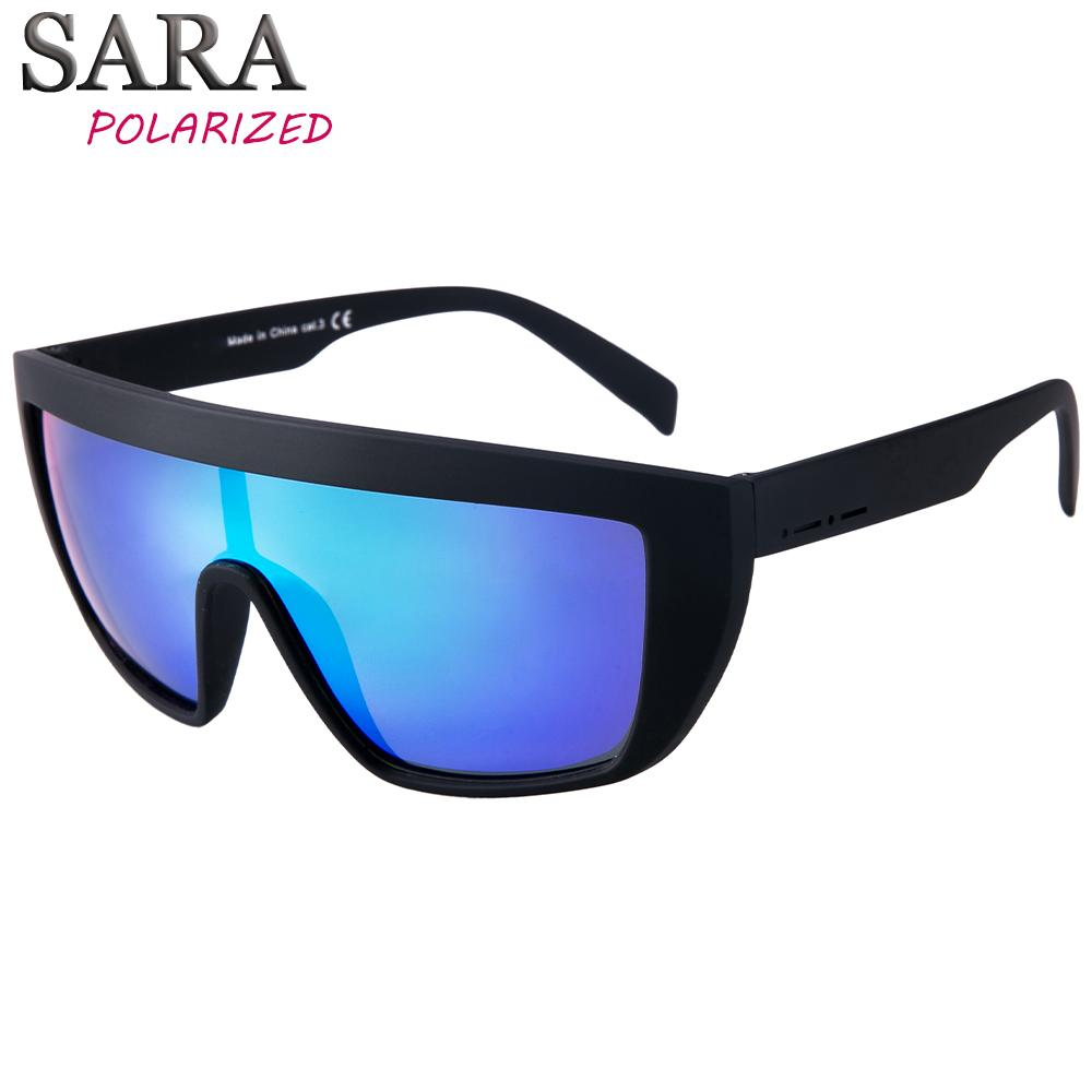 9f8b3c8aa55 Men Retro Sunglasses Oversized Man And Women Black Sport Polarized Uv400  Accessories Sun Protection Glasses Gafas Para Surfear Retro Sunglasses  Baseball ...