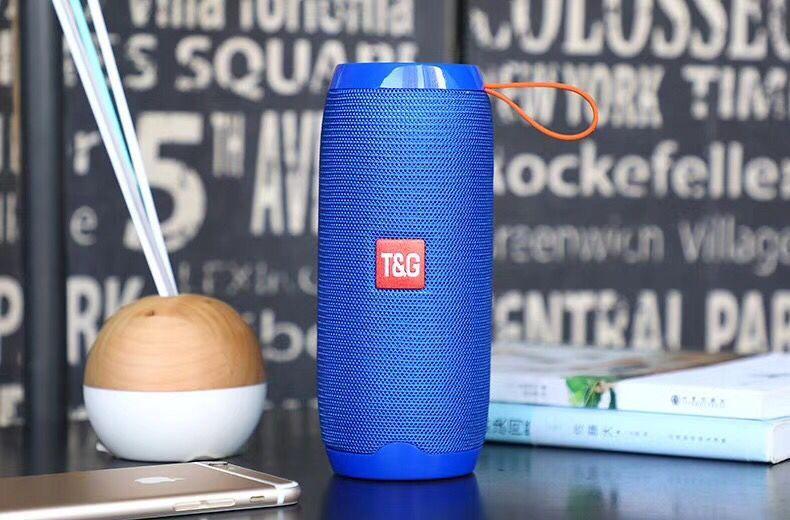 TG106 Bluetooth Speaker Portable Wireless Speakers Outdoor Waterproof Subwoofer USB FM Radio 1200mAh Battery 5Wx2 VS Charge2+