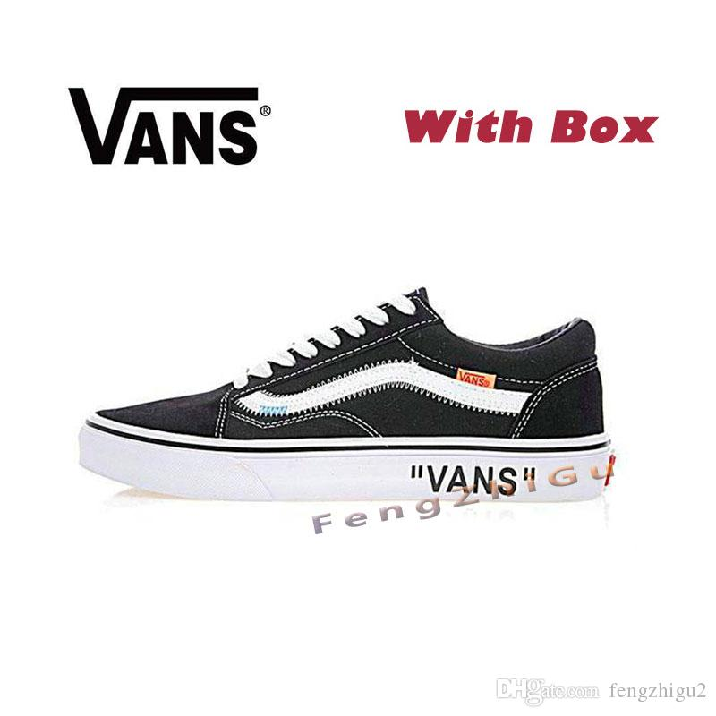 c52f4833f5 Satın Al Ucuz Yeni ⠀ Van Klasik Eski Skool Kanvas Erkek Kaykay Tasarımcı  Spor Erkekler Için Sneakers Koşu Ayakkabı Kadınlar Rahat Ayakkabı 36 44