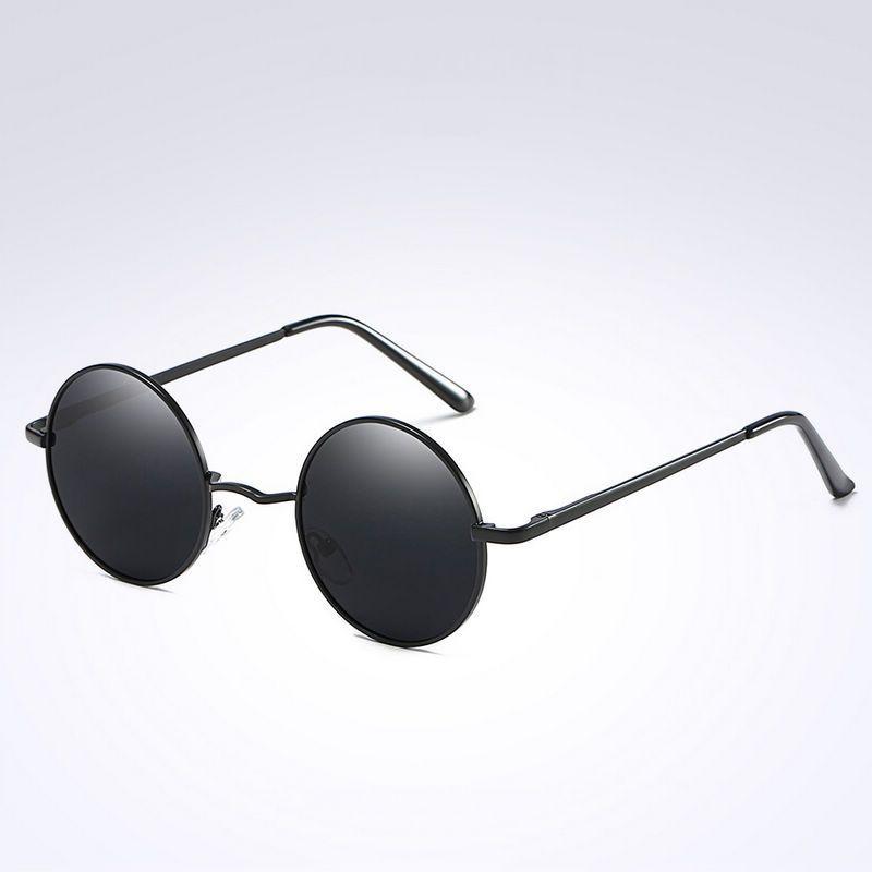 Nouveau lentille John Lennon style rondes lunettes de soleil rétro Adultes Hommes Femmes Lunettes UK
