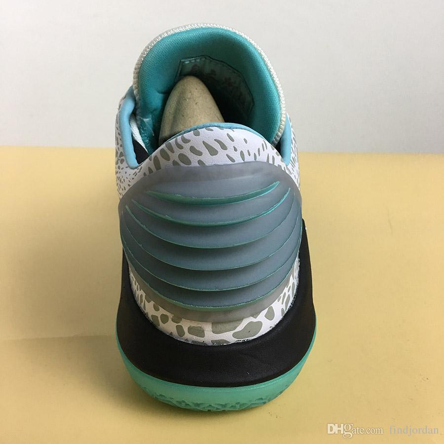 Haute Qualité 32 xxxii Chaussures de basketball basse Jade Nouveaux hommes 32s Métallique Argent métallique Black Jade Sports Sneakers Mode avec boîte