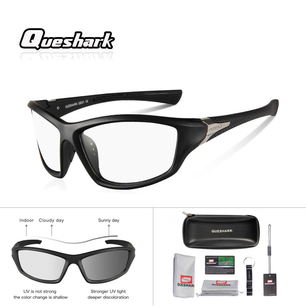 Compre Queshark Professional Uv400 Hd Ciclismo Óculos De Sol Ultraleve Anti  Reflexo Lente Fotossensível Óculos Esportes Ao Ar Livre Óculos Oculos De ... cc1d5c6c51