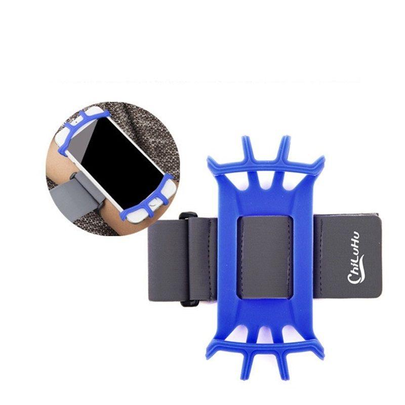 الجوف خارج تصميم حقيبة الذراع الرياضة في الهواء الطلق الهاتف المحمول شارة عالمية مادة السيليكون Armpack العملي للماء سهلة التنظيف 12qx Y