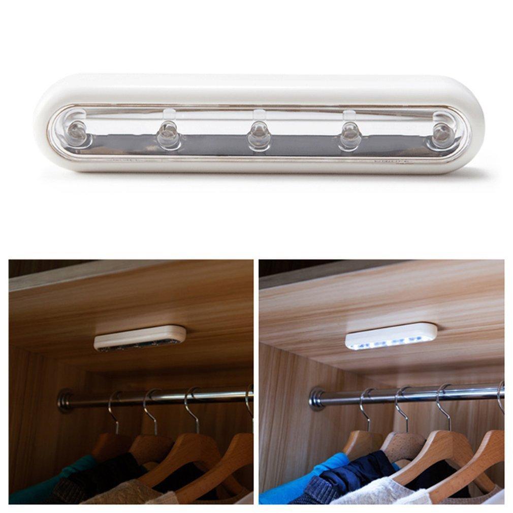 Cordles Icoco Bains Placard Lampe Salle Led Touch De Nuit Autoadhésif Pour Bâton Armoire Barre Lumières SVGUzLpqM